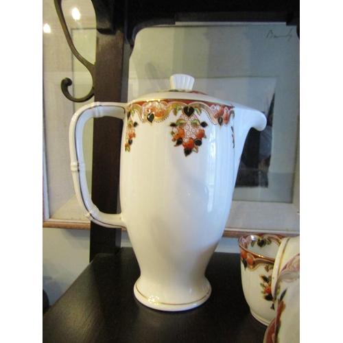 28 - Colclough China Genuine Fine Bone China Antique Part Tea Service Good Condition including Teapot and...