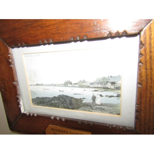 38 - Original Painted Picture Postcard of Blackrock, Co. Louth Circa 1890 Framed by Joseph Taaffe Circa 1...