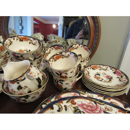 6 - Masons Fine Porcelain Part Dinner Service Quantity As Photographed Various Tureens Serving Platters ...