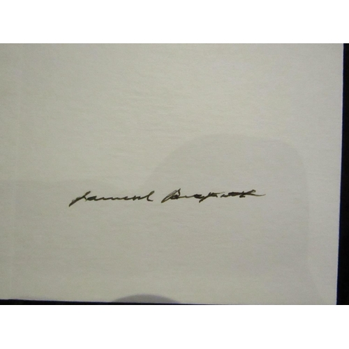 716 - The Beckett Country Signed by Samuel Beckett Special Limited Edition Published Black Cat Press Dubli...