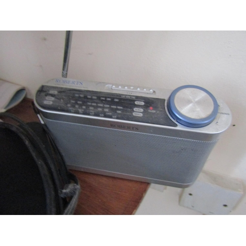 19 - Two Radios and Sky Box with Remote Control