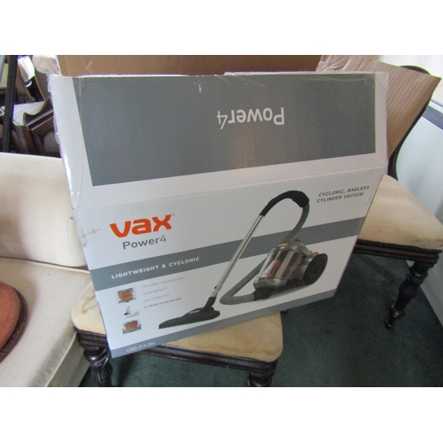 35 - VaxPower4 Cyclonic Bagless Cylinder Vacuum Cleaner Electrified Working Order