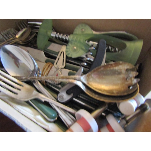 39 - Collection of Various Table Wear Silver Plated with Other Items Quantity As Photographed