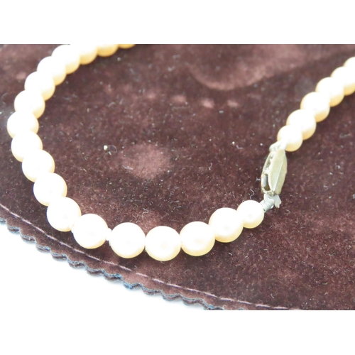13 - Ladies Watch and Pearl Necklace