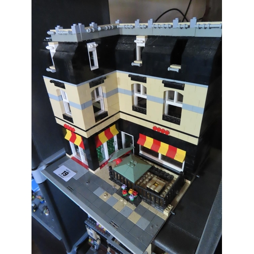 19 - Vintage Lego Townhouse Set Approximately 10 Inches Tall x 9 Inches Wide