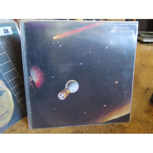 30 - Collection of Vintage Vinyl Include Various Leon Russell Albums, ELO and Eight Others