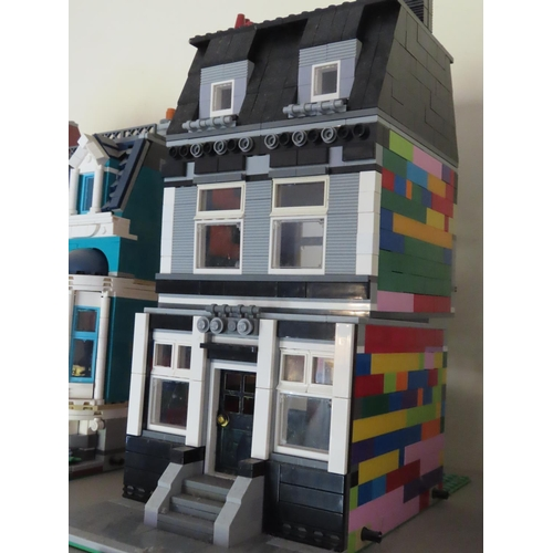 42 - Lego Town House Set Approximately 12 Inches Tall x 6 Inches Wide