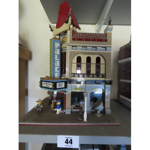 44 - Vintage Lego Cinema Set Approximately 16 Inches Tall x 8 Inches Wide