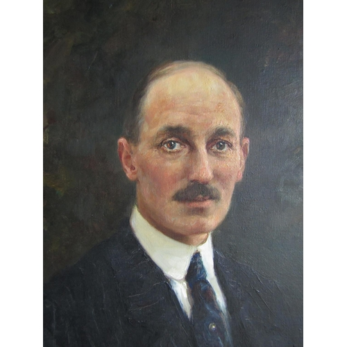 627 - Luma von Flesch-Brunningen, (1856 Brünn - 1934 München). Important Portrait of Lieutenant Colonel Ch...