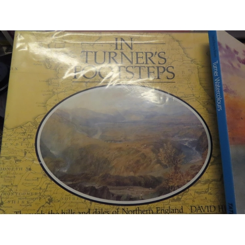 699 - In Turner's Footsteps by David Hill and Four Other Volumes