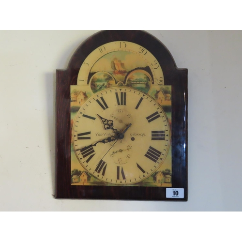 10 - Vintage Wall Clock Approximately 18 Inches Tall