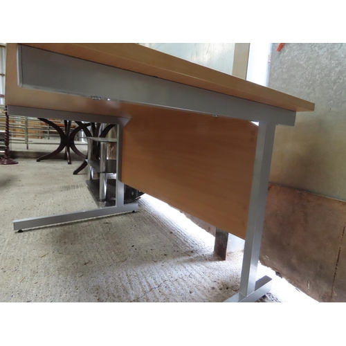 3 - Modern Office Desk Approximately 50 Inches Wide