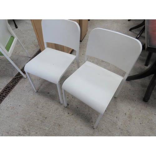 39 - Pair of Modern Design Side Chairs