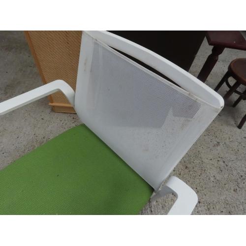 40 - Modern Designer Armchair Upholstered Seat