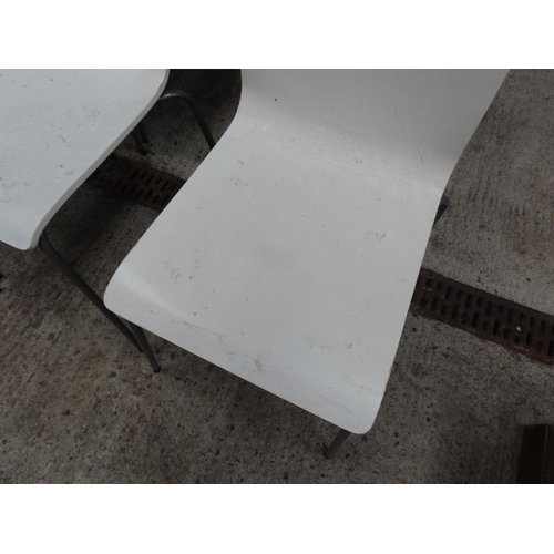 49 - Set of Six Designer Kitchen Chairs