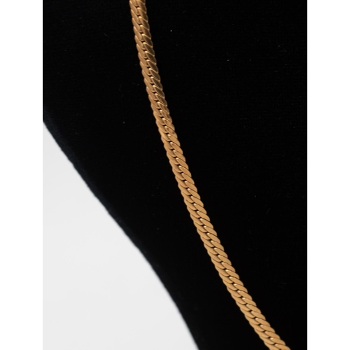 21 - Ladies Necklace 18 Carat Yellow Gold Good Condition
