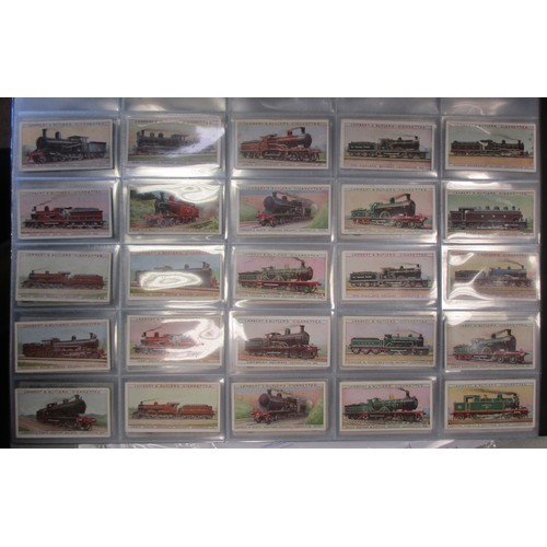 1 - Coln. of part sets and type cards in a large album, in variable cond., incl. Adkin War Trophies (11)...