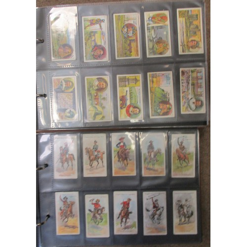 3 - Coln. of mainly complete sets, in 2 albums etc, in variable cond., incl. Ogdens Captains of Associat...