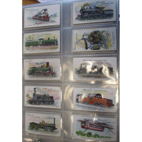 5 - Coln. of complete and part sets, in 3 boxes, mainly in albums, in variable cond., incl. L & B Motor ...