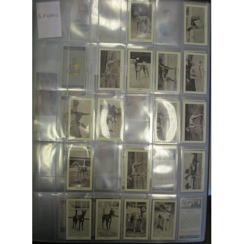 10 - Coln. of complete and part sets, in 6 large albums, in variable cond., incl. Boguslavsky Mythologica...