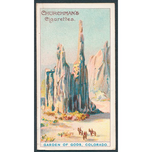 17 - Churchman. 1911 A Tour Round the World set, in good cond., with several better, apart from some with...