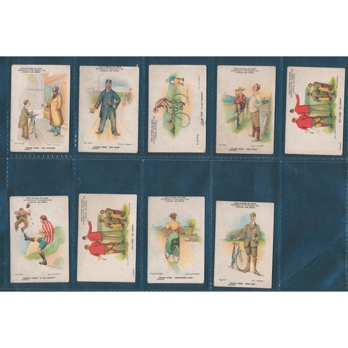 20 - Clarke. Range of part sets, in variable cond., with Boer War Celebrities (4), Sporting Terms (19, on...