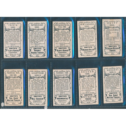 27 - Smith. 1902 Medals (numbered, Smith multi-backed), in good to very good cond., apart from one with a...