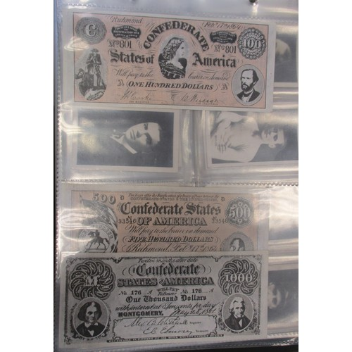 32 - Coln. of complete and part trade set, in an album and loose, in variable cond., incl. A. & B.C. Civi...