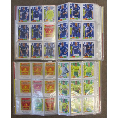 36 - Topps Match Attax. Huge collection of complete and part sets, contained in 170+ collectors albums, f...