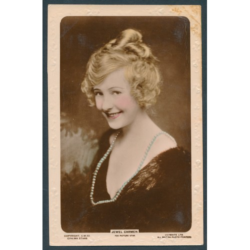 54 - Misc. coln. 4 albums of music hall and cinema stars together with a quantity of mainly moderns with ...