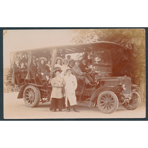 38 - Misc. coln. A valuable coln. in modern album of transport, social, advertising accidents, rural etc....