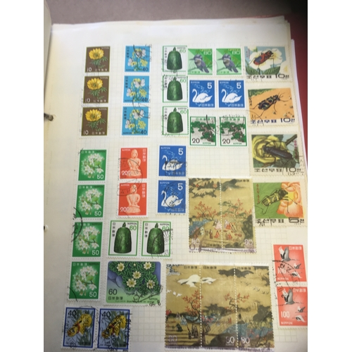 1 - STAMPS : World Glory box of various stock books and albums...