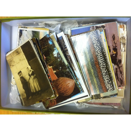 39 - POST CARDS : Dutch, Amish, Maritime and other postcards approx 220 cards...