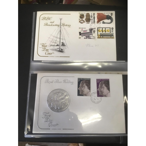 2 - STAMPS : Mixed rummage box of old world albums plus an album of first day covers most with Shornclif...