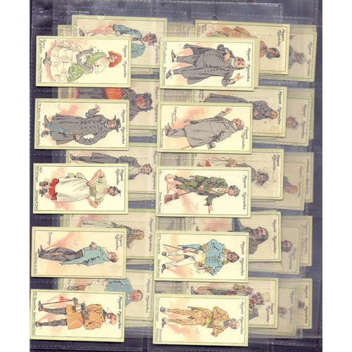 40 - CIGARETTE CARDS : 1923 Players ''Characters from Dickens'' complete set of 50 cards. Fine!...