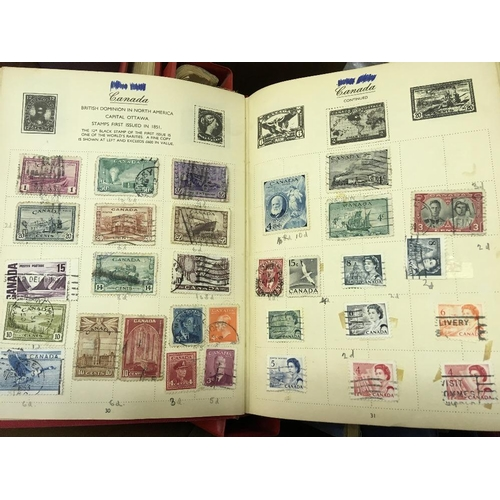 5 - STAMPS : Glory Box of old albums, stock books and loose stamps, get ready for winter and have a sort...