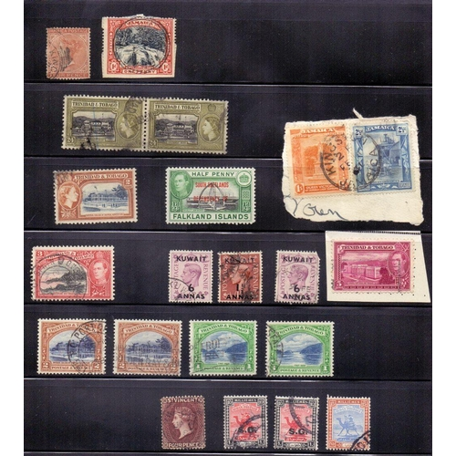 7 - STAMPS : Commonwealth accumulation mint and used on stock pages, including many 1953 coronation stam...