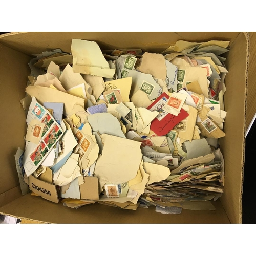 14 - STAMPS : Box of all World on paper, a project for the Winter ! BEING SOLD FOR PILGRIMS HOSPICE, ALL ...