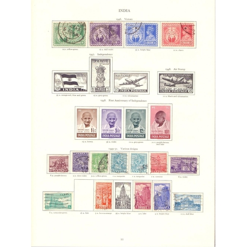 11 - STAMPS : COMMONWEALTH collection in GVI Crown album with case, put together by the vendor over many ...