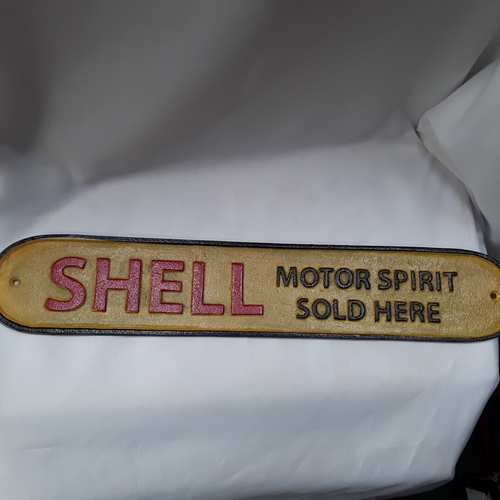 1044 - A large Shell metal sign. (Ref142)...