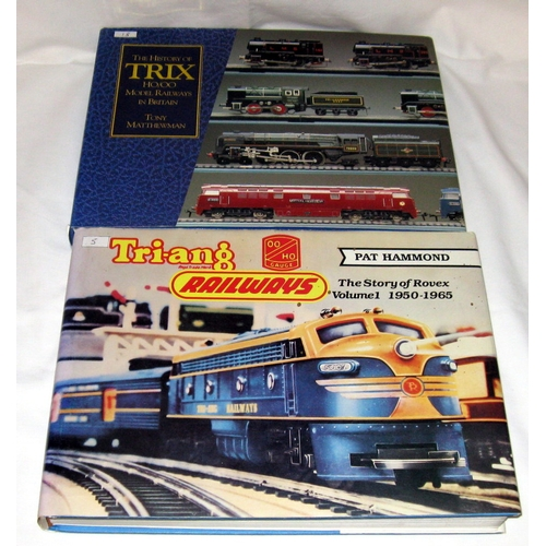 56 - NCP Triang Railways The Story of Rovex Vol 1 1950-1965 and The History of Trix Trains...