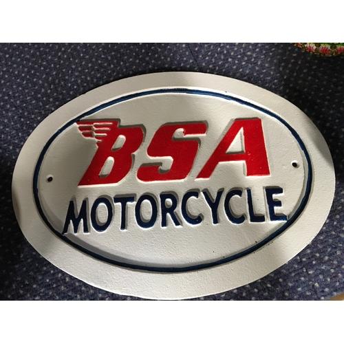 1025 - A BSA sign (173)....
