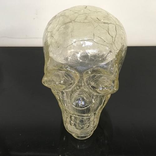 1288 - A glass skull (112)....