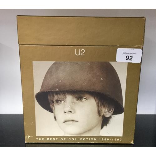 239 - U2 The Best Of 1980 -1990 Promo UK 7