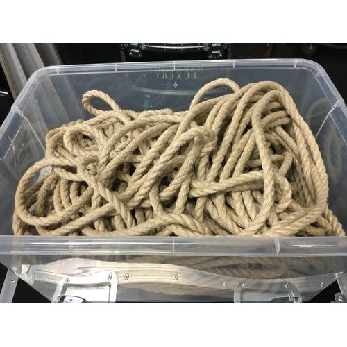 1408 - A box of ropes....