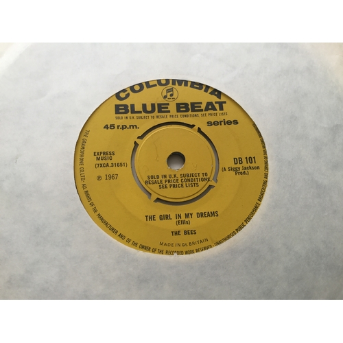175 - The Bees (AKA Symarip) Rare Boss Skinhead Reggae Single. 'Jesse James Rides Again / The Girl In My D...