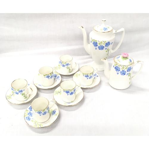 8 - A Radfords Crown China coffee set....