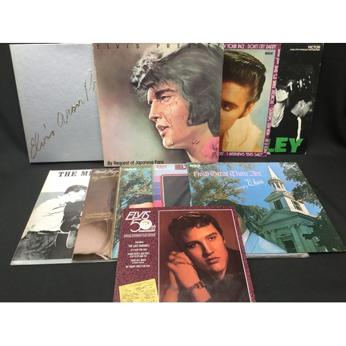 239A - Elvis Presley Box Sets And Vinyl Records. Here we have 2 x box sets of 'Request Of Japanese Fans & E...