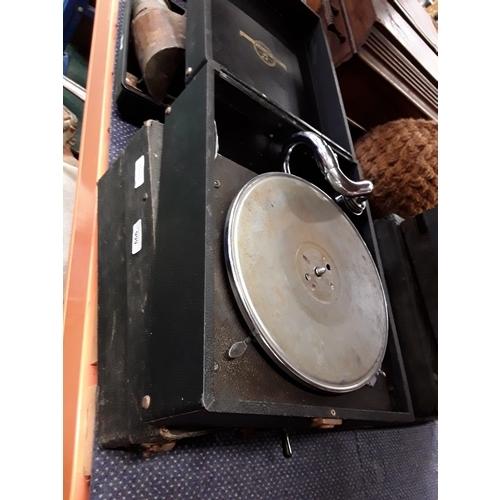 999 - Two vintage gramophones....
