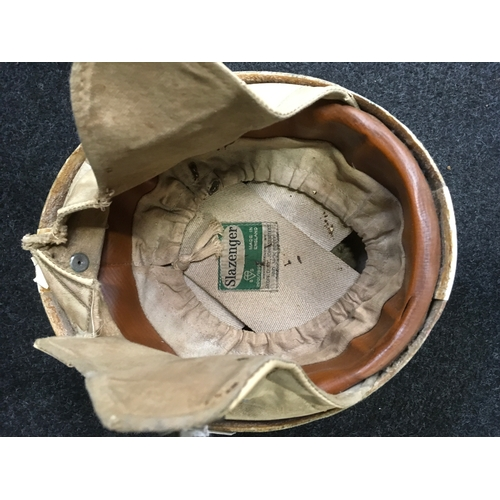 25M - A 1950's competition crash helmet, recommended by Geoff Duke, John Surtees and Jack Brett....
